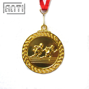 3D Running Award Silver Medal Gold Medal Custom Sport Medal for Athelets