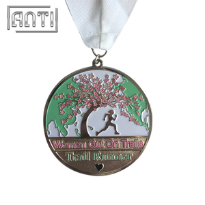 Custom Sport Medal High Quality Running Medal Nickel Medal Coin Medal for Trail Runner