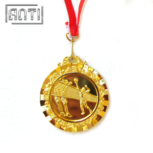 Spcial Gold Sport Medal Silver Medal Gold Medal for Volleyball Match
