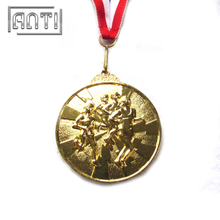 Hot Selling Custom Sport Medal Silver Medal Gold Medal for Marathon