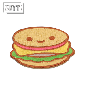 DIY Classic Food Children Cute Hamburger Patches for Clothing
