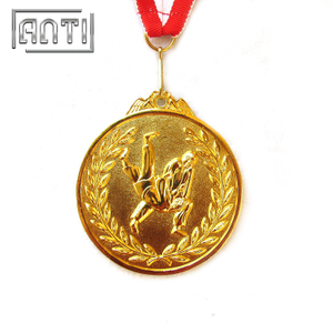 Custom Sport Medal High Quality Wrestling Medal Gold Medal