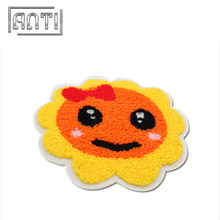 Cartoon Sun Embroidery Patch for Hats 100% Embroidery