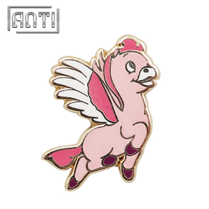Cute Cartoon Pegasus Lapel Pin Enamel