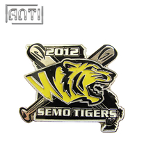 Sports Metal Lapel Pin Badge Tiger Logo Pin